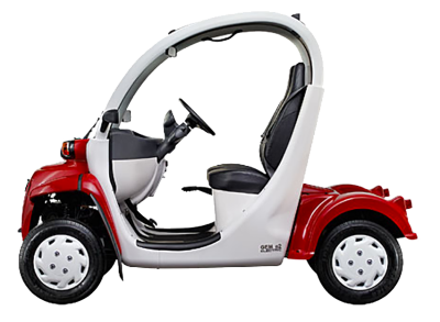 Length Of A  Passenger Gem Electric Car